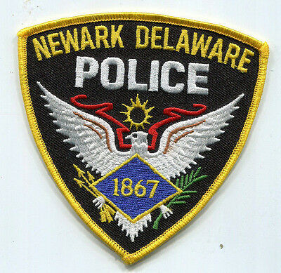 Newark Delaware Police Patch