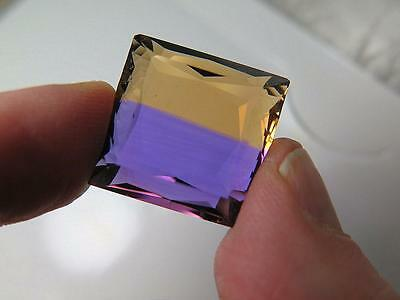 47 Cts,top Quality Faceted Ametrine From Anahi Mine,check Video