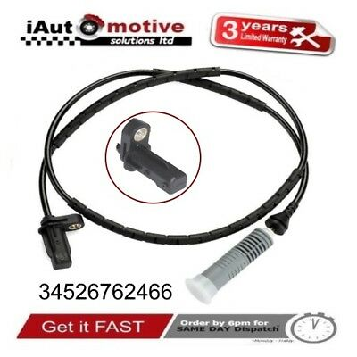 Bmw 1 & 3 Series Rear Wheel ABS Speed Sensor E88 E90 E91 34526762466 2005 - 2014