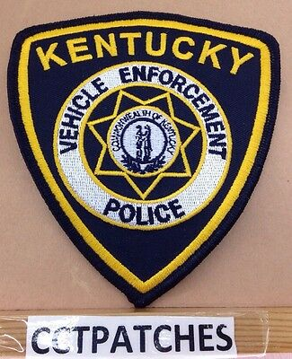 Kentucky Vehicle Enforcement Police Shoulder Patch Ky