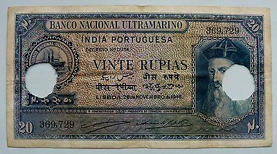 BN1785 - India - banknote 20 Rupee 1945