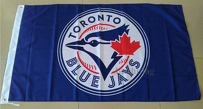 Toronto Blue Jays Flag Banner New 3x5 FT 150x90cm Polyester MLB, free shipping