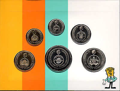 Australia 2016 - Uncirculated Six Coin Set - 50 Years of Decimal Currency