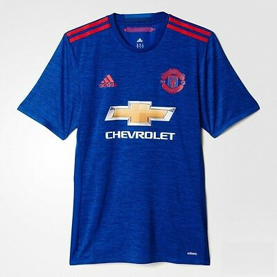 2016-2017 Manchester United Adizero Away Mens Authentic Jersey Shirt All Sizes