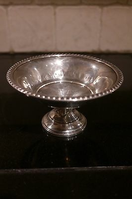 Sterling Silver Wallace Footed Compote / Candy Dish 735