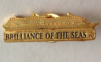 Brilliance Of The Seas Vintage Cruise Ship Pin Badge Authentic Collectable (D4)