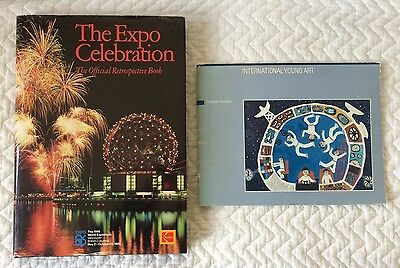 The Expo Celebration Official Book & Young Art Catalog EXPO 86 Vancouver BC