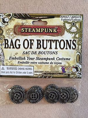 Steampunk Buttons Bag of Buttons-costume accessory Victorian embellishment
