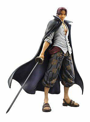 New Excellent Portrait.Of.Pirates One Piece Series NEO DX Red Haired Shanks PVC