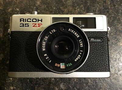 Ricoh 35 ZF Camera