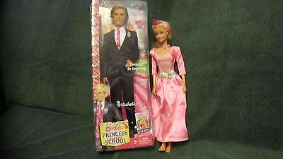 Barbie Princess Charm School Prince Nicholas & Barbie Merliah Marmaid Tale, NIB