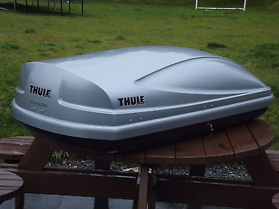 For Hire Only Thule Atlantis 200 Silver Roof Box – Dual Side Opening 440 L