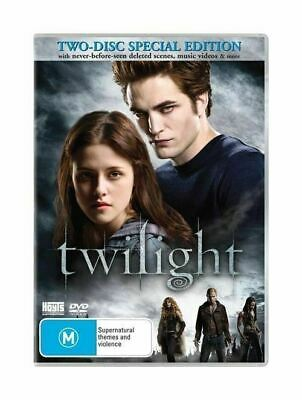 The Twilight New Moon By Catherine Hardwicke DVD 2009 2-Disc Set PAL Region 4