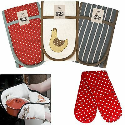 Thick Oven Glove Cooking Pot Holder Kitchen Heat Resistant Mitt Baking Mittens