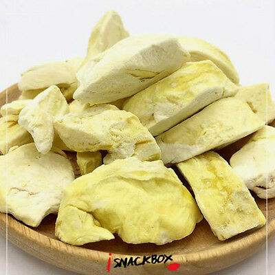 Freeze Dried Durian Healthy Snack Thai Fruit Food Natural Delicious Dried Crispy