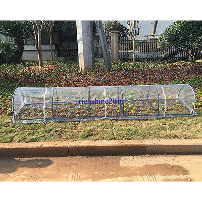 Transparent PVC Greenhouse Tomato House Early Plant House For Garden 300x61x43cm