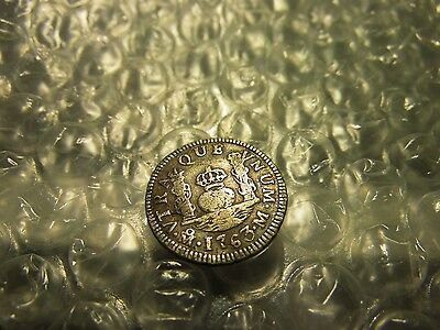 Mexico 1763 One (1) Real Silver Coin