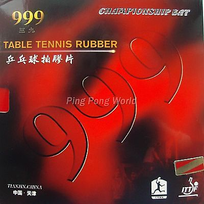 999 999T Attack Loop Type Pips-In Table Tennis Rubber with Sponge 2.2mm H44-45