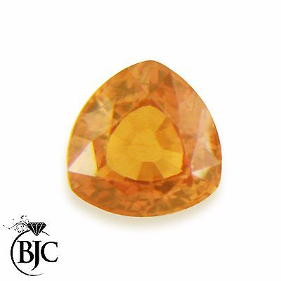 Natural Trillion Cut Mined Golden Orange Tourmaline Loose AAA+ Quality Cut