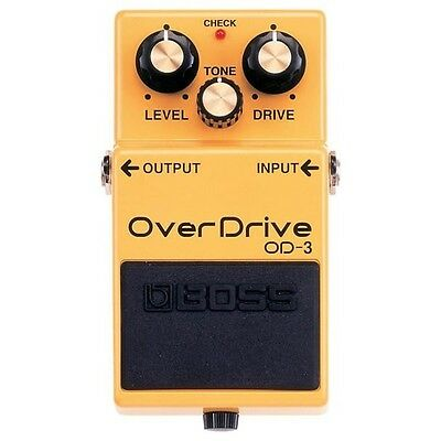 Pedal BOSS OD-3 Overdrive Dual Distorsión / Overdrive