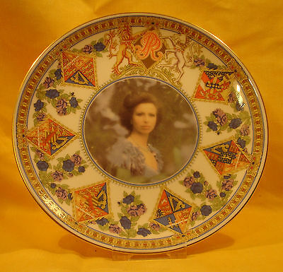 A15 1987 Princess Anne  Plate  the Bestowing of Title Princess Royal L/E