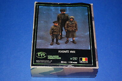 Verlinden Productions 297 - Paesants WWII  scala 1/35
