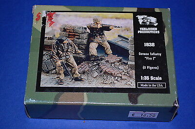 "Verlinden Productions 1838 - German Infantry ""Fire!""  scala 1/35"