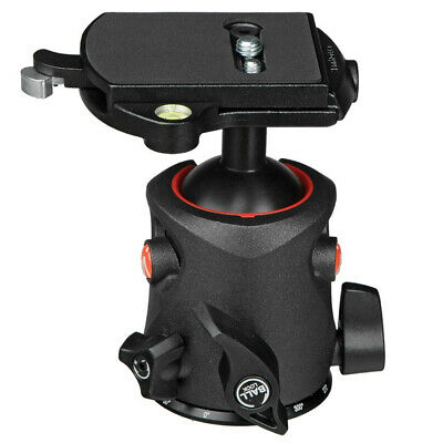 New In Box Manfrotto MH055M0-RC4 Magnesium Ball Head with RC4 Quick Release