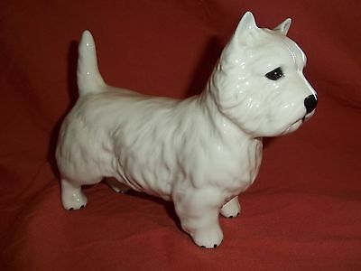 Beswick dog Westie West highland terrier white scottie excellent condition
