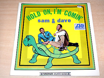 EX/EX !! Sam & Dave/Hold On, I'm A Comin'/1966 Atlantic Stereo LP