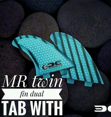Edgecore Mr Twin Fins For Both Fcs And Future Base In Many Colors