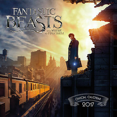 Fantastic Beasts and Where to Find Them Official 2017 Calendar - NEW (219)