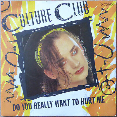 """7"""" Culture Club - Do You Really Want To Hurt Me - Europa 1982 - NM"""