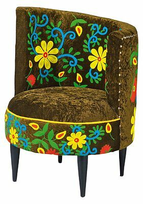 La Pazarmchair. Size 68X64X88H - Wood Structure, Viscose Coating And Polyester