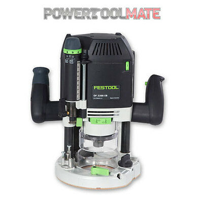 "Festool 574352 OF 2200 EB-Plus GB 240V Router (1/4"" and 1/2"")"