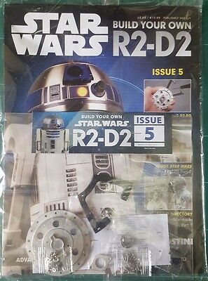 Star Wars DeAgostini weekly issue # 1,2,3,4,5,6, Build your own R2-D2