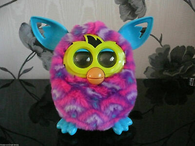 Hasbro Official New Gen Furby Boom Interactive Diamonds Triangle Sunny Curve Toy