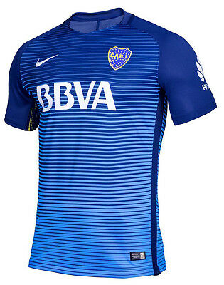 BOCA JUNIORS maillot PLAYER ISSUE 2017 *MATCH* 2eme Exterieur NIKE