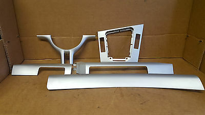 BMW 3 SERIES E46 COUPE 5 PIECE DASH TRIM  STEERING WHEEL trim SILVER
