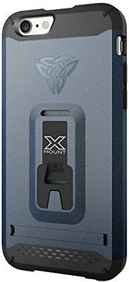 ARMOR-X Rugged Kickstand Case With Integrated X-Mount System For Apple IPhone 6