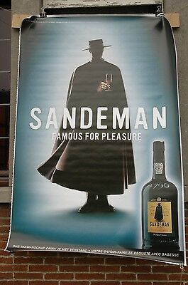affiche grand format Porto Sandeman Famous for pleasure 176 x 118 cm poster