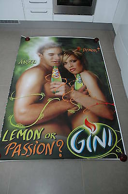 affiche grand format GINI Angel & Demon Lemon or passion 176 x 118 cm poster