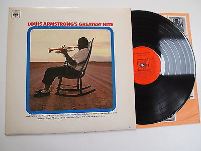 LOUIS ARMSTRONG'S GREATEST HITS LP VINYL EX UK 1967 MONO 1ST PRESS A1/B1 Best Of