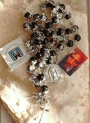 Chaplet of St Michael glass beads  for the devotee of the Holy Face
