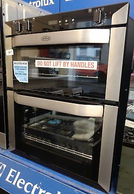 Belling BI70FP Built Under Electric Double Oven Double Cavity Stainless (587)