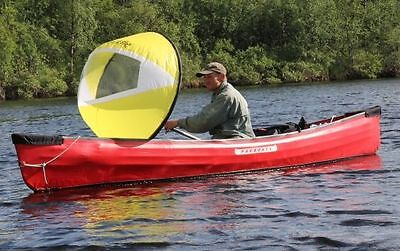 KAYAK SAIL Paddle  - Go Sailing in your Kayak or Canoe - Wind-PADDLE - Yellow