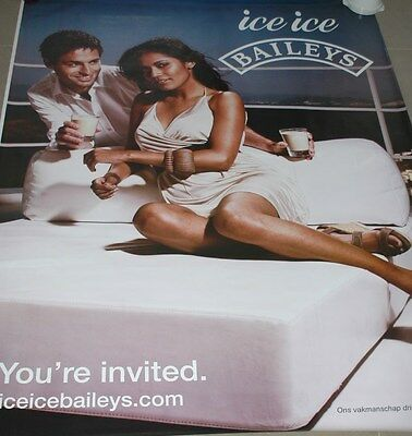 affiche grand format Ice Ice Baileys you're invited 176 x 118 cm poster