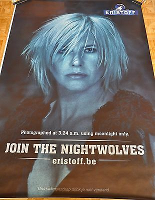 affiche grand format Eristoff Els Pynoo join the nightwolves 176 x 118 cm poster