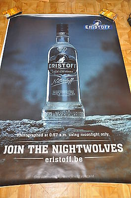 affiche grand format Eristoff moonlight join the nightwolves 176 x 118 cm poster