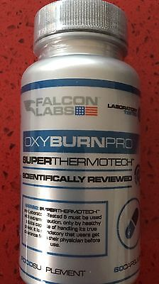 Falcon Labs Oxy Burn Pro - 60 Caps - Superthermotech Fat Burner Orginal Oxyburn